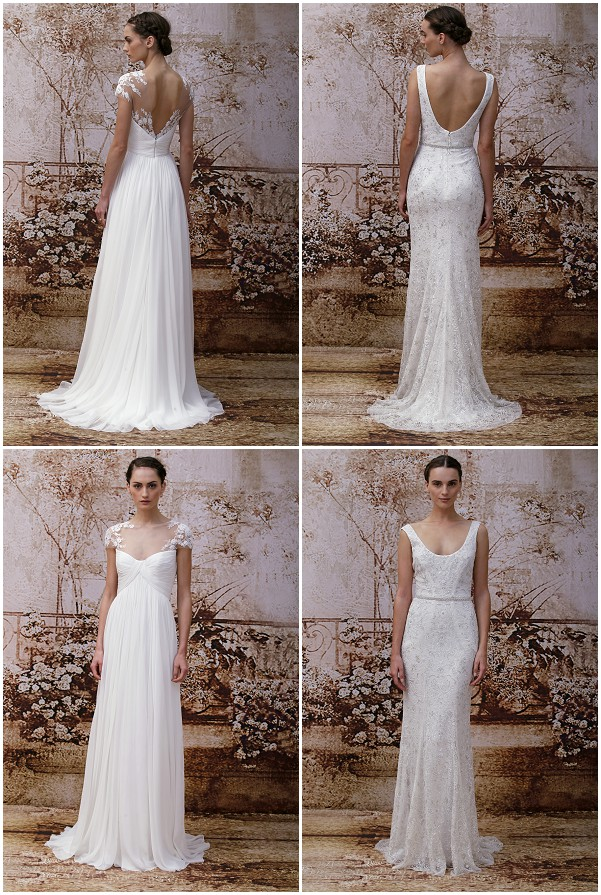 Monique Lhuillier Fall 2014 Wedding Dresses dress Monique Lhuillier
