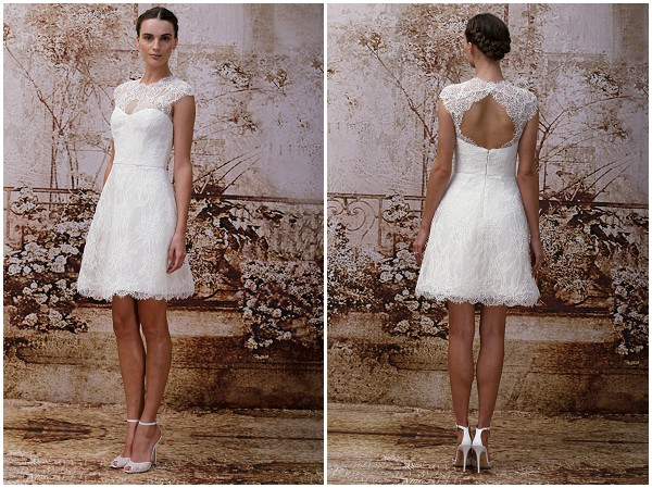 Monique Lhuillier registry style wedding dress