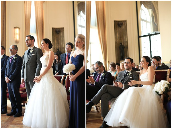 official wedding Paris