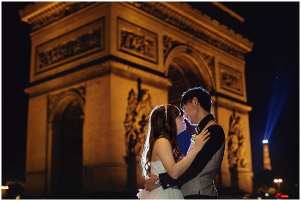 wedding arc de triomphe