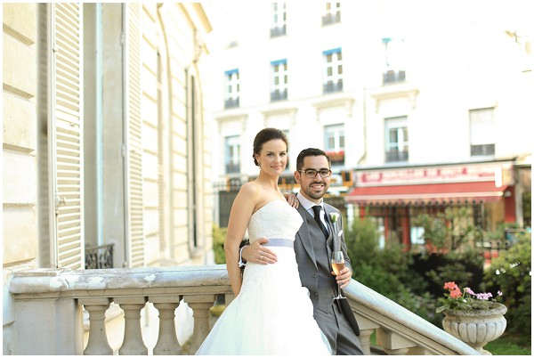 wedding in central Paris | Melissa Barrick Photography