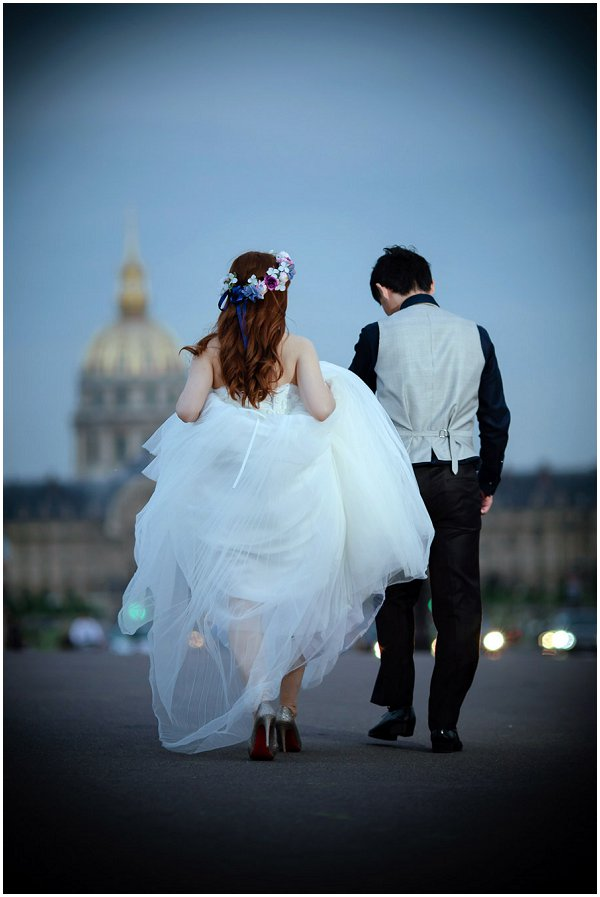 wedding goodbye paris