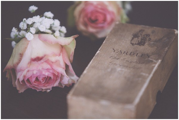 antique wedding roses