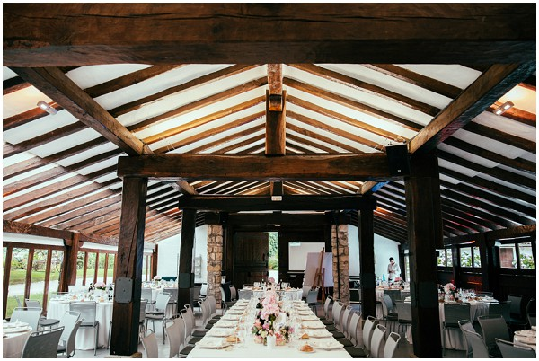 barn wedding france