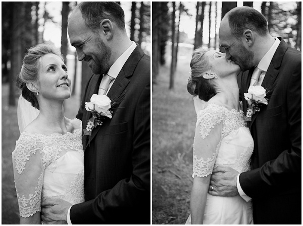 black white wedding photos