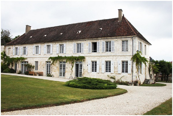 Chateau de Mailly wedding venue in Burgundy France