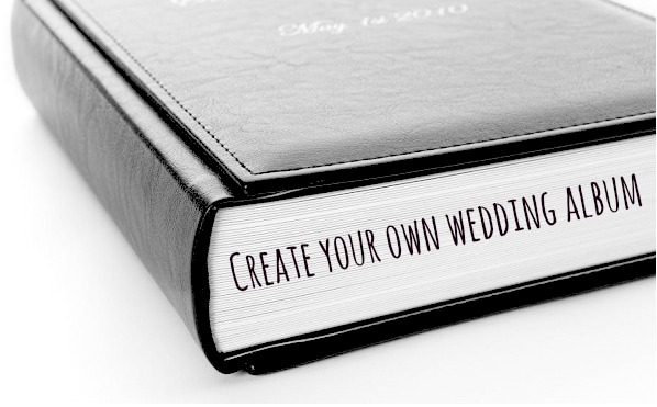 create your own wedding album