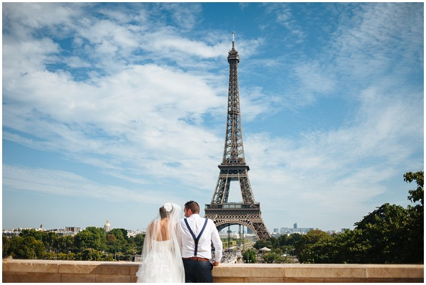 iron lady wedding paris