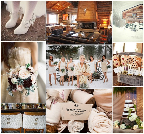Log cabin wedding ideas for Log ideas