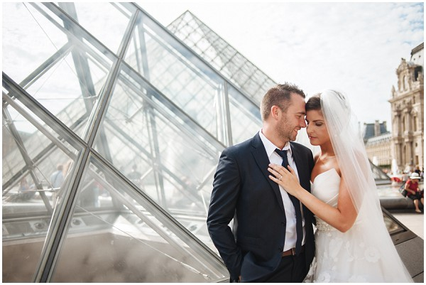 louvre pyramid wedding