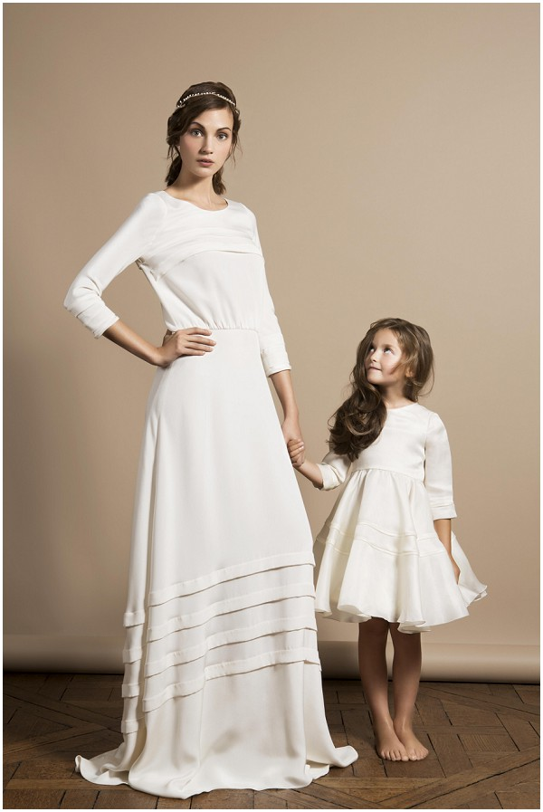 Delphine manivet 2014 collection french wedding dresses for Mother daughter dresses for weddings