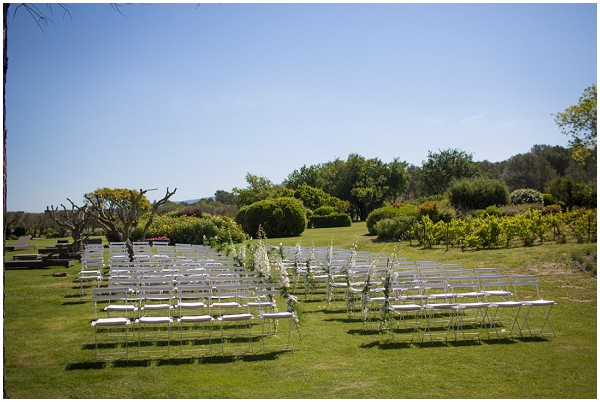 outdoor wedding south france