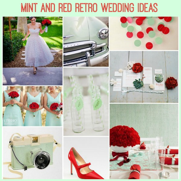 Mint Wedding Ideas: Mint Retro Wedding Ideas With A Hint Of Christmas