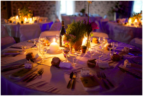 romantic wedding tables