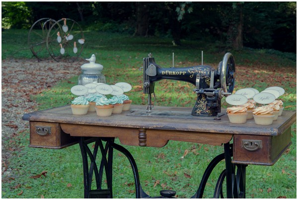 rustic wedding props
