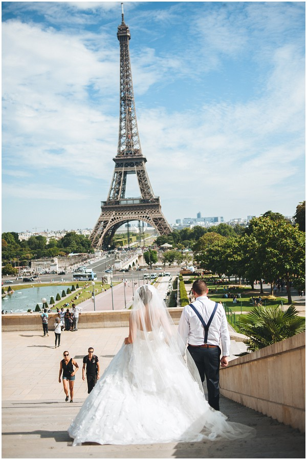 wedding photos eiffel tower