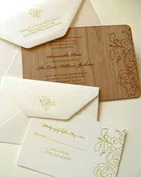 whats in a wedding invitation