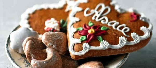 Alsace Christmas gingerbread
