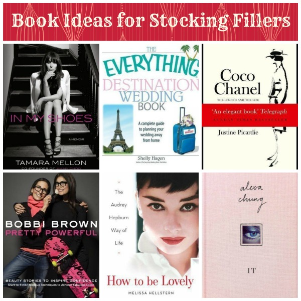 book stocking fillers