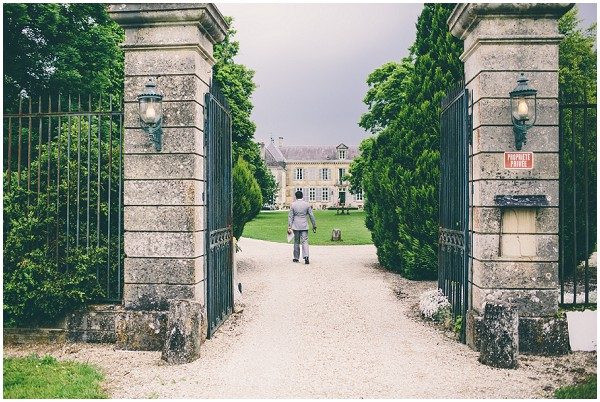 rustic old Chateau gates  | Image by Samuel Docker Photography