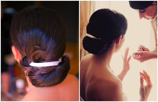 chic bridal hair
