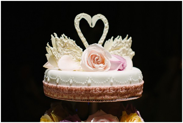 heart wedding cake tier
