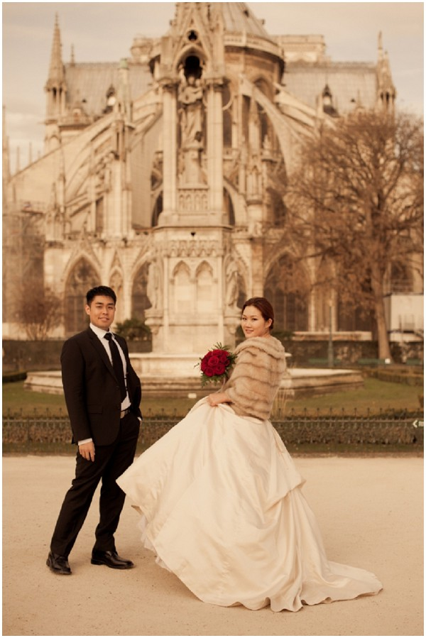 intimate elopement paris