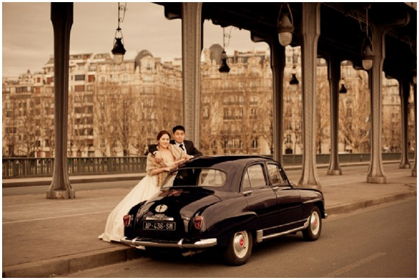 paris wedding vintage