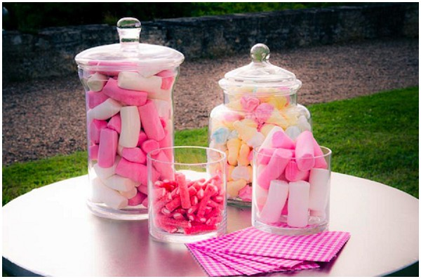 retro sweet jars