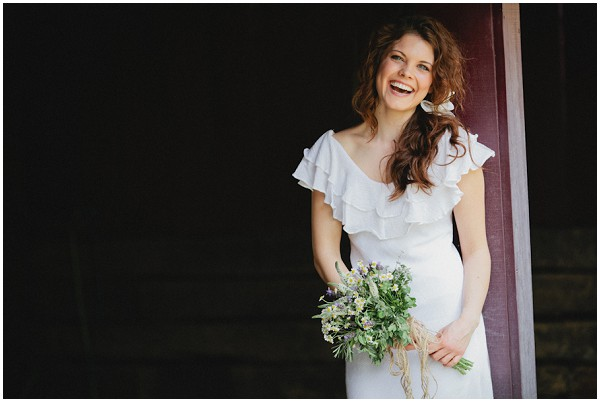 rustic bridal style