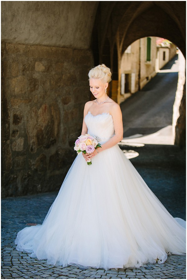swan princess wedding dress