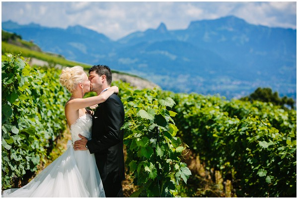 vineyard wedding switzerland