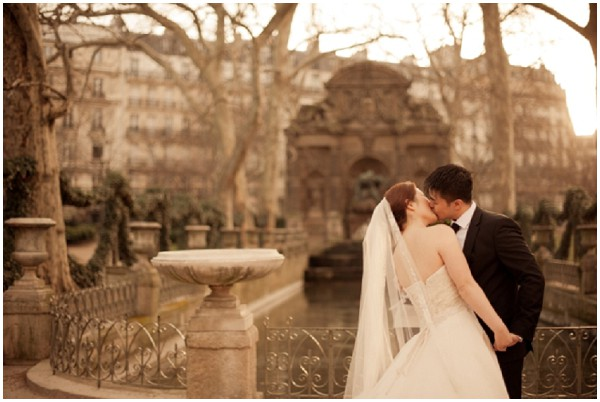 wedding paris gardens