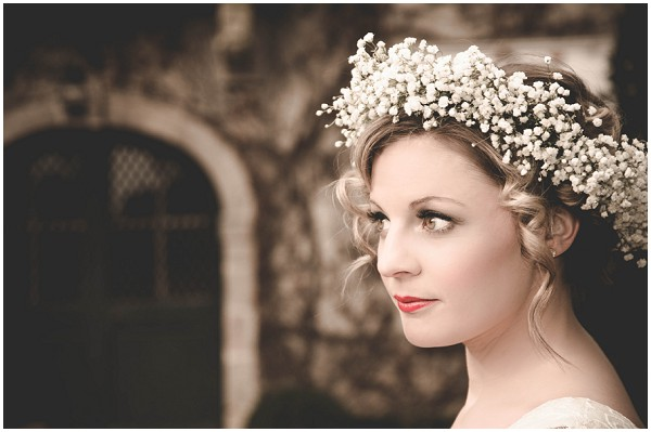 babys breath headdress