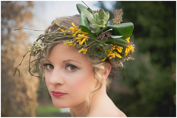 boho floral headdress