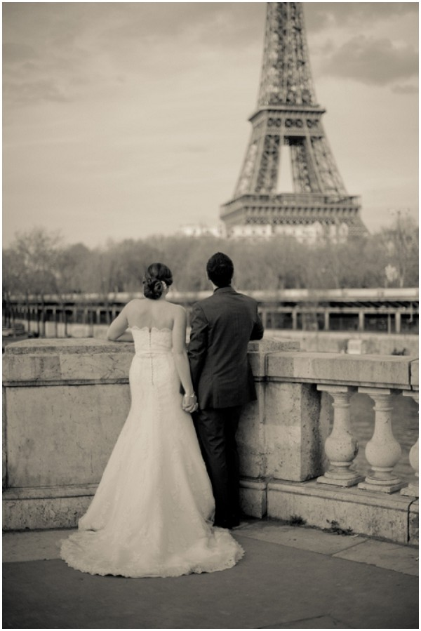 eiffel wedding