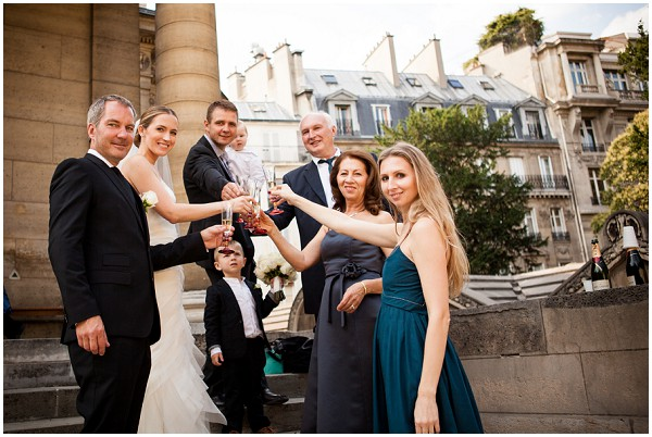 family wedding in paris