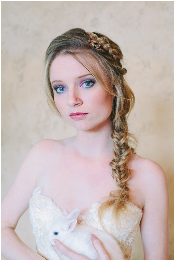 long bridal plait