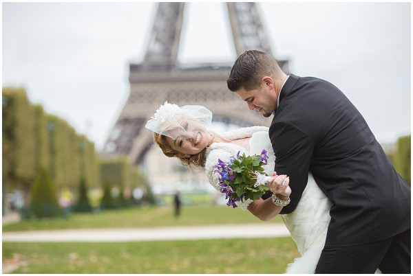 marriage at eiffel tower