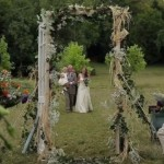 outdoor wedding film