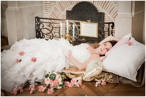 sleeping beauty bride
