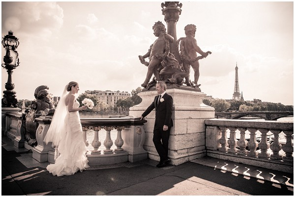 streets paris wedding