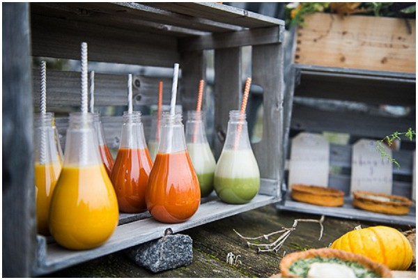 vegetable juice bar