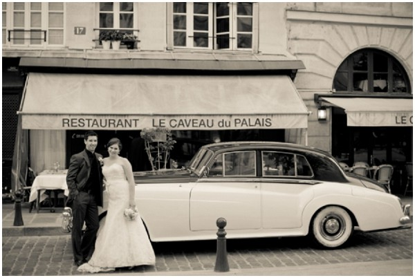 vintage car hire paris