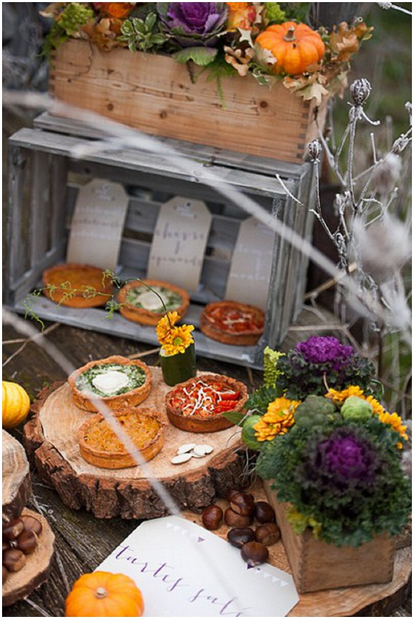 wedding catering autumn