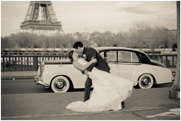 wedding eiffel tower