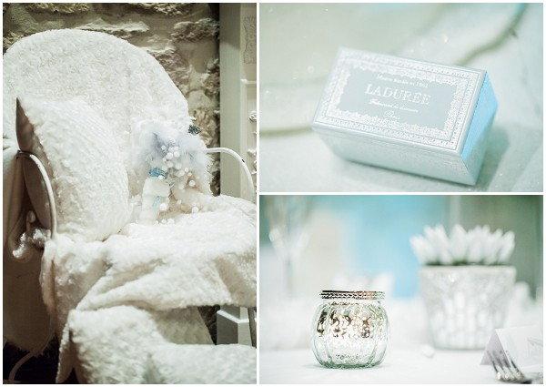 white soft blue wedding