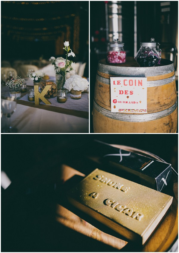 wine themed wedding