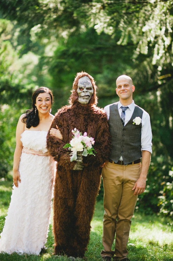 BigFoot at a wedding!