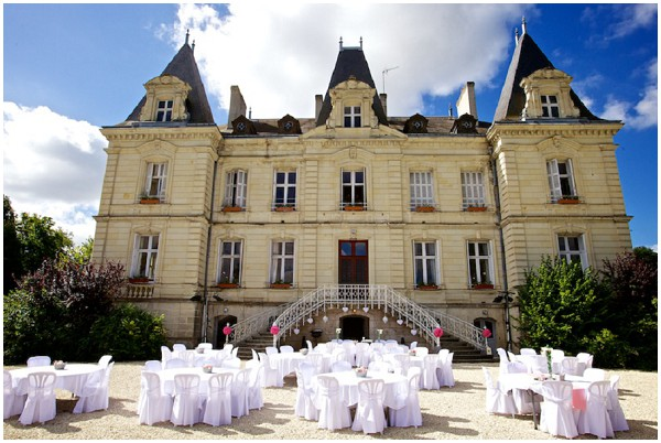 Chateau des Termelles wedding venue Loire Valley | Image by Stephenson Imagery